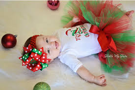 my christmas baby girl my christmas tutu my christmas tutu