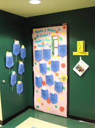 pbis door decoration contest and ms kwiecinskis class all