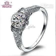 silver rings women images 2018 925 silver swiss diamond ring women 39 s diamond ring married jpg