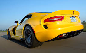 chrysler conquest yellow first drive 2013 srt viper automobile magazine