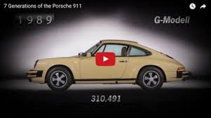 porsche 911 g model there are 7 generations of the 911 here s how many porsche