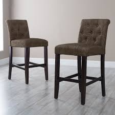Kitchen Counter Stools Morgana Tufted Counter Stool Hayneedle