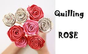 Homemade Valentines Day Gifts by Diy Valentines Day Gifts Make Paper Rose Stripe Quilling