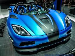 koenigsegg paris agera koenigsegg supercar supercars bleu blue wallpaper