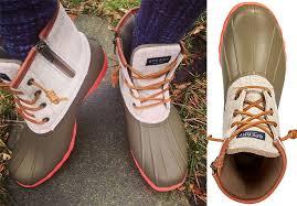 womens boot sale macys 43 20 reg 120 sperry s duck boots