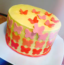 Wilton Cake Decorating Ideas Decorate A Spring Cake With Easy Fondant Cut Outs
