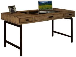 wood and metal writing desk solid wood and metal writing desk with drawers glass top of elegant