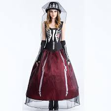 costume skeleton witch play