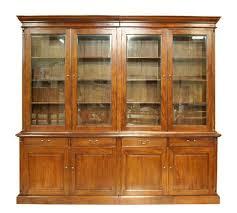 Provincial Bookcase Timber French Provincial Display Cabinets U0026 Bookshelf U2013 Hudson