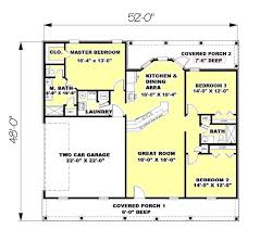 1500 square house ranch style house plan 3 beds 2 00 baths 1500 sq ft plan 44 134