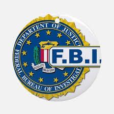 fbi ornament cafepress
