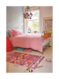 pink hand printed honeycomb single bed linen set sophie conran shop