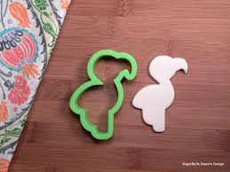sugarbelle sweets flamingo cookie cutter flamingo party flamingo