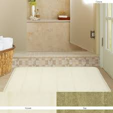 Large Bathroom Rugs Mohawk Home Memory Foam Bath Rug 17 Inch By 24