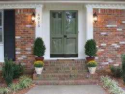 i like this color green for the home pinterest painted front