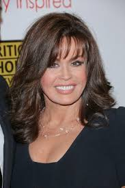 marie osmond hairstyles feathered layers marie osmond pinteres