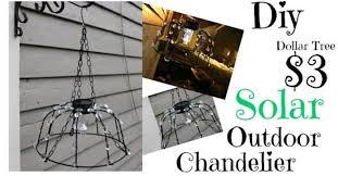 Tree Chandelier 3 Dollar Tree Diy Solar Outdoor Chandelier Hometalk