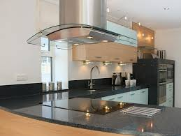 kitchen island hoods charming kitchen island hoods designs with glass canopy and led
