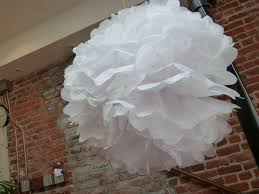 tissue paper pom poms 9 steps with pictures