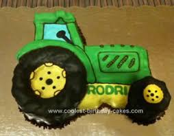 cool homemade farming tractor cake design john deere dads and