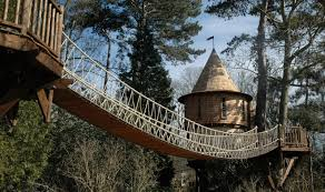 Treehouse Living Blue Forest Treehouses Xo Private