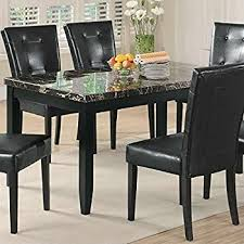 Dining Room Table Black Coaster Home Furnishings 102791 Casual Dining Table