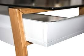 Schreibtisch Aus Glas Bonvivo Designer Schreibtisch Massimo Moderner Sekretär In Einem