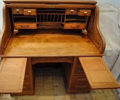 bureau americain cylindre bureau fauteuil de bureau americain le blogue antiquités