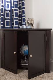 corner cabinet espresso craft bedroom furniture