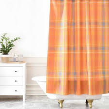 Orange Shower Curtains Buy Orange Shower Curtain From Bed Bath Beyond