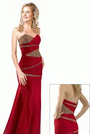 evening gown gorgeous long evening dresses with red and gold
