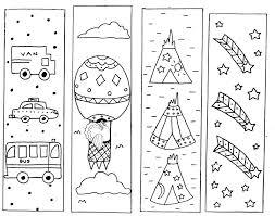 printable goosebumps bookmarks book fair clip art coloring pages