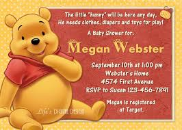 Winnie The Pooh Invitation Cards Baby Archives Page 11 Of 11 Party Themes Inspiration