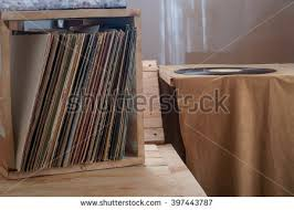 stack of record albums stock images royalty free images vectors