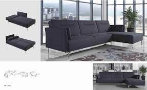 Grey Modern Sofa by Divani Casa Rixton Mid Century Grey Fabric Sofa Bed Sectional