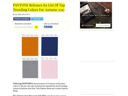 2017 Trending Colors by Popular Design News Of The Week February 27 2017 U2013 March 5 2017