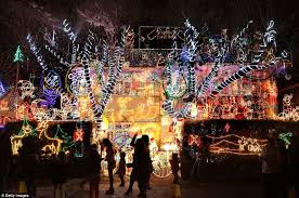 cost to have christmas lights put up amazing christmas lights that take a month to put up illuminate
