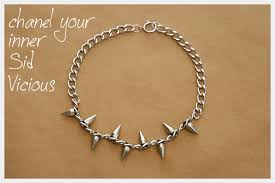 chain necklace diy images Spiked chain necklace diy jpg