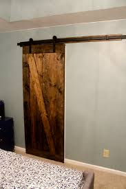 Anchor Furniture To Wall How To Mount A Barn Door Using Tc Bunny Hardware From Amazon