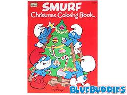 smurf coloring books smurf christmas coloring book jumbo smurfs