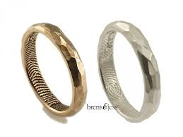 untraditional wedding bands fingerprint ring superior untraditional wedding rings 1