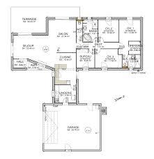plan maison rdc 3 chambres plan maison 90m2 plainpied 3 chambres cheap maeva ch with plan