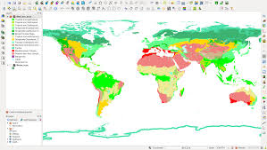 World Map Biomes by Converting An Arcmap Layer File Into An Sld Document U2013 Ecostudies