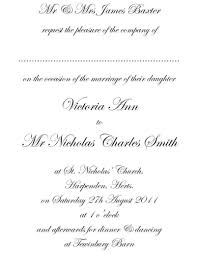 templates free wedding and reception invitation wording with