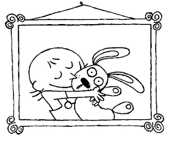 trixie love knuffle bunny coloring pages trixie love
