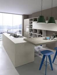 refined italian kitchen amazes with classy practicality and modern