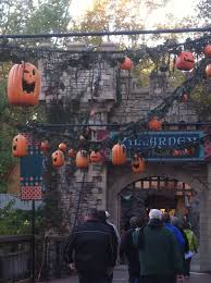 Family Garden Williamsburg Howl O Scream 2011 At Busch Gardens Williamsburg The Mapless