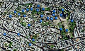 France Map Cities by Discover The Village Of Montmartre In Paris French Moments