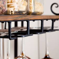 Bakers Shelf Rack Sturdy Metal And Wood Bakers Rack With Wine Glass And Bottle