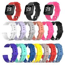 bracelet bands ebay images Silicone replacement wristband watch strap band for fitbit versa jpg